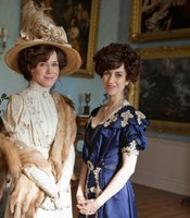 Frances O'Connor as Rose Selfridge and Katherine Kelly as Lady Mae.