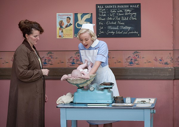 Supporting actress and Helen George as Trixie Franklin.