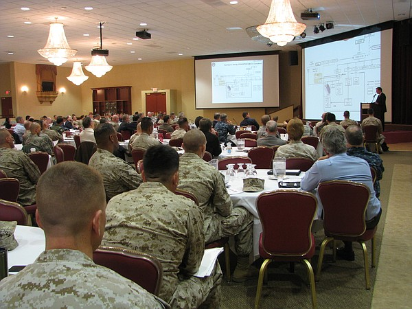Timothy Russell of the Marines' Northern Command describing the chain of comm...