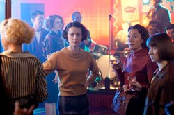 Helen George as Trixie Franklin, Jessica Raine as Jenny Lee, Dorothy Atkinson as Jane and Bryony Hannah as Cynthia Miller.