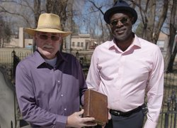 Charles Burns asks History Detectives host Tukufu Zuberi to find out whether this antique biography of frontiersman Kit Carson has a tangible connection to Kit Carson's family.