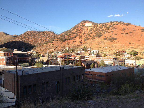 Bisbee, Ariz. has a population of about 6,000 people.