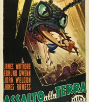 """Assalto alla terra,"" the Italian poster for ""Them."""