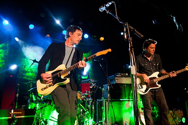 Jakob Dylan and Greg Richling of the Wallflowers.