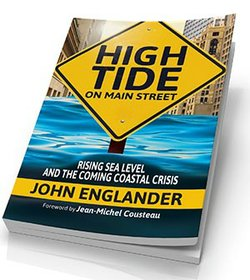 """High Tide on Main Street: Rising Sea Levels and the Coming Coastal Crisis"" by oceanographer John Englander."