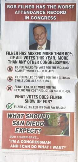 An anti-Filner ad that ran in U-T San Diego.