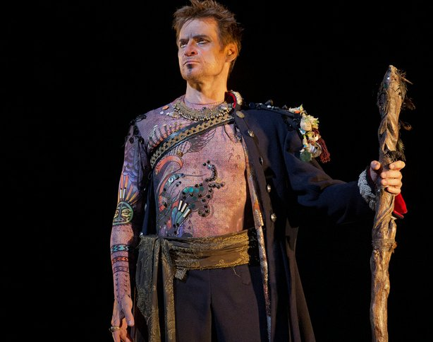 "Simon Keenlyside as Prospero in Thomas Adès' ""The Tempest."""