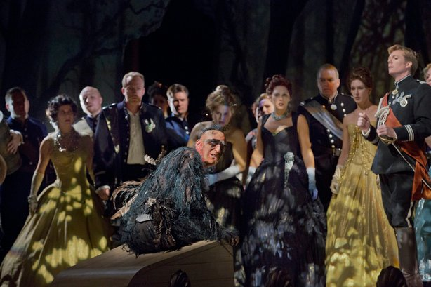 "Alan Oke as Caliban in Thomas Adès' ""The Tempest."""