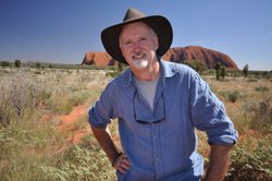 Host and geologist, Dr. Richard Smith at Uluru.