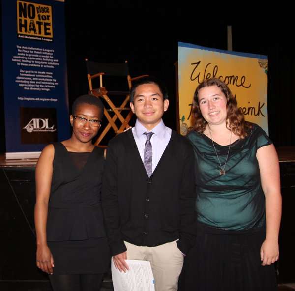 Kearny High School Student Leader Delegates from the Anti-Defamation League's...