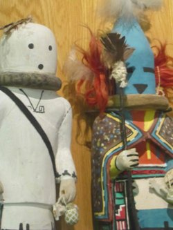 The tribe says Katsina dolls can be sold. A doll is typically given to a young girl at a public ceremony as a blessing and part of her education.