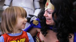 Wonder Woman Day in Portland, Oregon.