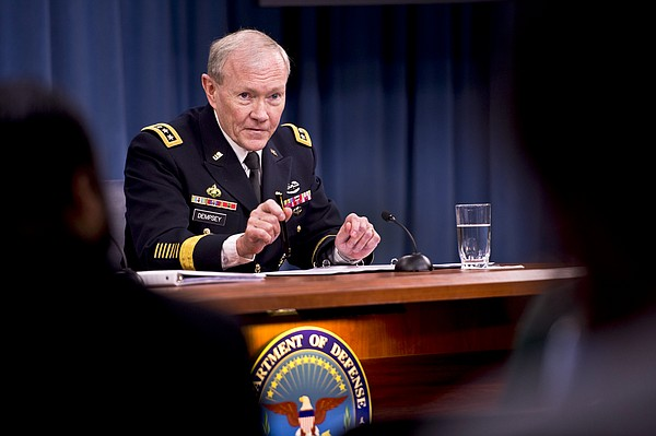 Army Gen. Martin E. Dempsey, chairman of the Joint Chiefs...