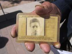 A former Braceros identification card.