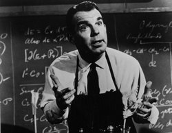 "Actor Fred MacMurray in ""The Absent-Minded Professor."""