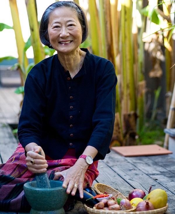 Su-Mei Yu, a celebrated San Diego chef, restaurateur and cookbook author.