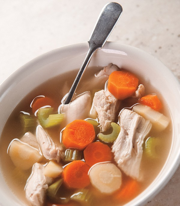 Martha Stewart makes a nourishing chicken soup that's as ...