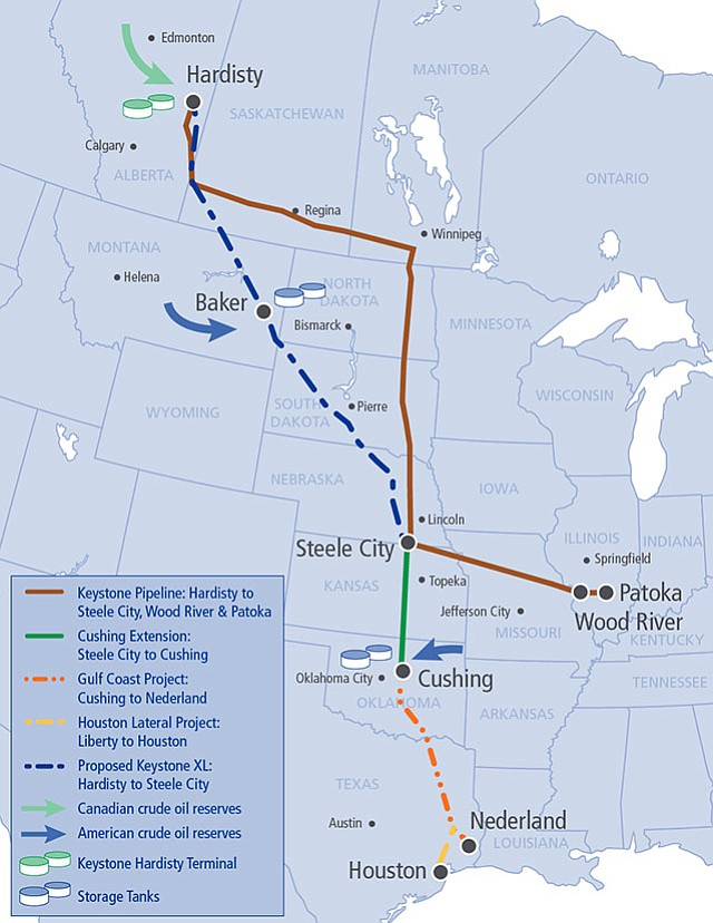 Keystone XL Oil Pipeline Clears Significant Hurdle | KPBS