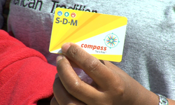 The Compass Card, a smart card used by San Diego's Metropolitan Transit System.