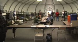 Nearly 150 veterans call this winter shelter home during the months of December through April. It's one of two the city funds during the cold weather months.