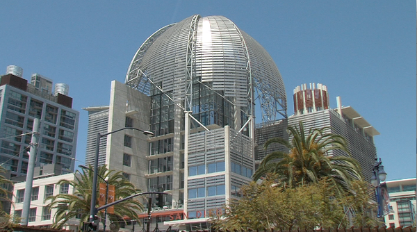 San Diego's new downtown library, which is scheduled to b...