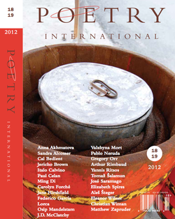 "The current issue of ""Poetry International"" features translations of poems by Burmese, Iranian, Chinese and Russian poets among others."