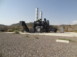 Never used incinerator at FOB Salerno.