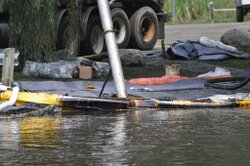Photo from the Kalamazoo River oil spill.