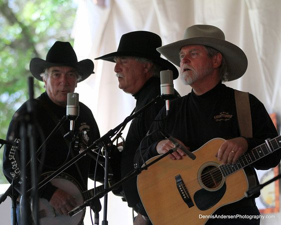 The Shirthouse Band performing at the Ramona Bluegrass and Old West Fest in 2...
