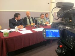 Attorney Anthony Curiale, One on One President Kenneth Cole, Attorney John Murphy, Lance Rogers talk about raid at One on One.