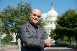 "Peter Sagal, host of NPR's ""Wait, Wait … Don't Tell Me,"" in Washington, D.C."