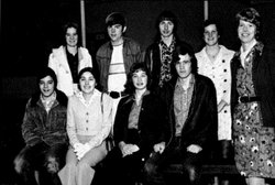 Grant Goodall (bottom right) with the San Francisco Esperanto Club in 1974.