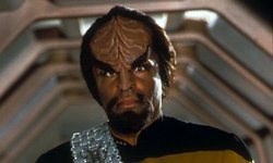 A Klingon from Star Trek. A linguist created the Klingon language used in the television series and films.
