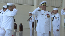 Vice Adm. David Buss is commander of naval air forces.