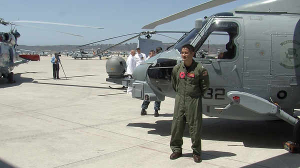 Lt. Kevin Shikuma has been a pilot in the Navy for eight years.