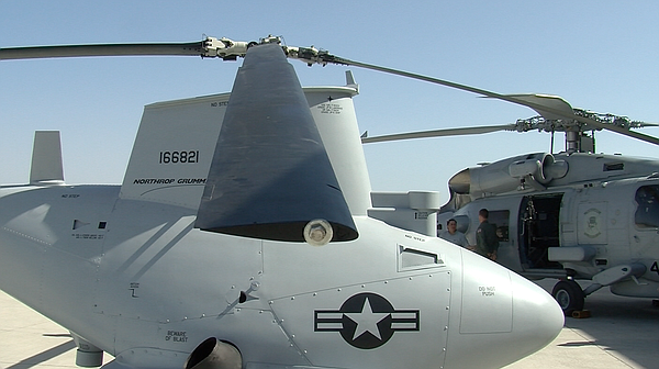 The Navy's newest helicopter squadron features manned and unmanned aircraft.