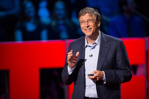 Bill Gates, technologist and philanthropist.