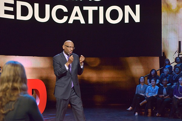 Geoffrey Canada, educator, social advocate and CEO of Har...