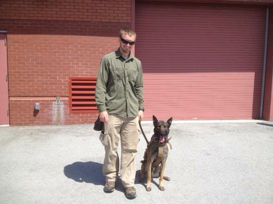 Marine Cpl. David M. Sonka and Flex.