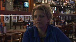Perri Spiller is the manager of Dick's Last Resort in downtown San Diego's Gaslamp District.