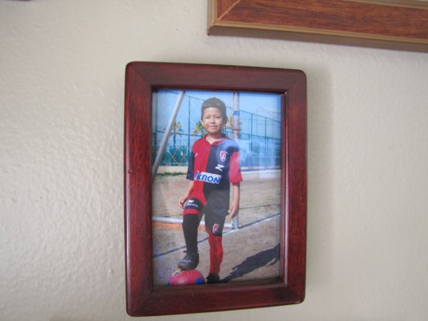 Gloria Mejia's youngest son, Joaquin, is the only one of her children who is ...