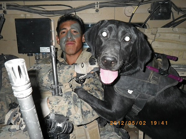 Lance Cpl. Bryan Utrilla and Cpl. Tick