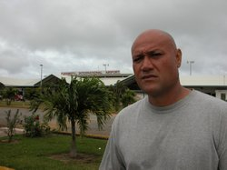 "Sione Kaloamatangi, resident of Tonga. ""Tonga: Last Place on Earth"" examines the deportation of convicted criminals of Tongan descent from the U.S. to the tiny island nation of Tonga for ""rehabilitation."""