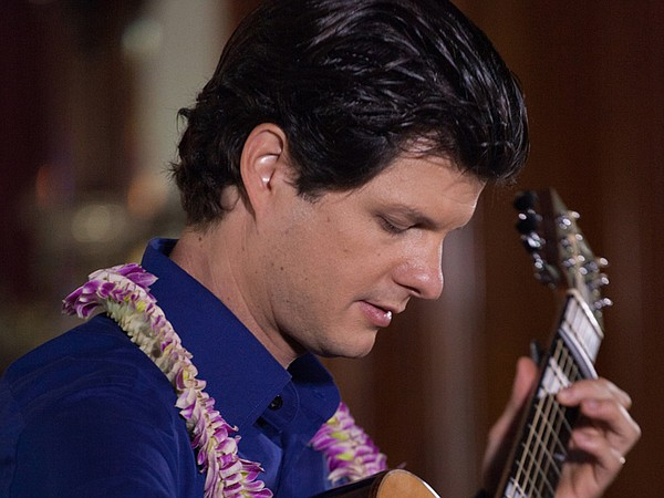 Jeff Peterson, one of Hawaii's most versatile musicians. In