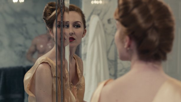 "Suggesting the duality in Djuna (Josephine de La Baume) in ""Kiss of the Damned."""