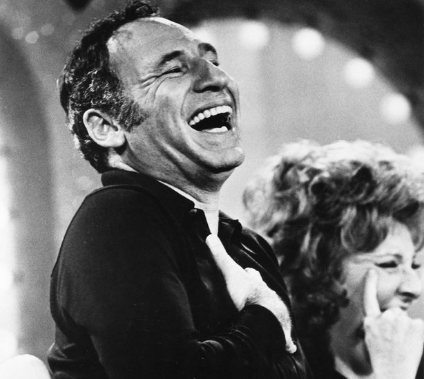 """Mel Brooks in """"To Be or Not To Be."""""""
