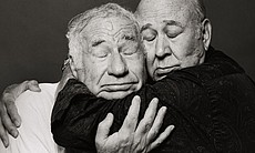 Mel Brooks and Carl Reiner.