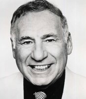 Mel Brooks, director, producer, writer and actor.