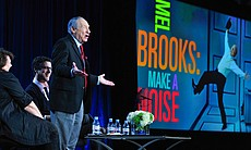 "During PBS' AMERICAN MASTERS ""Mel Brooks: Make A Noise"" session at the Televi..."