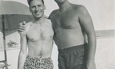Mel Brooks and Sid Caesar in the early 1950s.